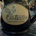 Very cute Over Easy Cafe Mug