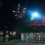 Restful Fireworks Spot