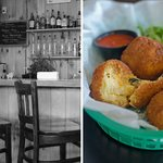 Fried mac n' cheese balls