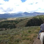 Scenic horseback ride