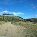 Entrance to Aspen Canyon Ranch