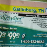 Coupon for The Edgewater Hotel