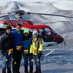 Mendehall Glacier Helicopter