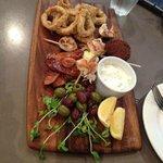 Share platter for two