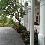 Surroundings of hotel