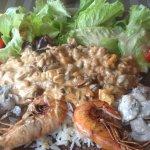 Galette aux fruits de mer