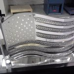 American Flag Masterpiece on Display
