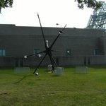 Light post sculpture