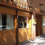La fachada del restaurante