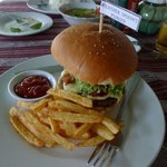 Weather Spoon's burger - great!