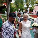 our wedding at Pink Coco