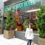 Entrada do Hotel Chelsea Savoy