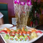 Now that's a sushi platter!