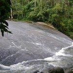 Uma das cachoeiras que visitamos..