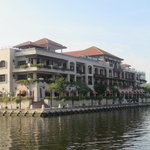 Hotel from Jetty for boat Cruise