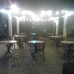 Patio at Night