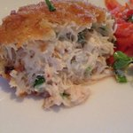 Inside the crab cake