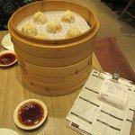 Pork Dumplings,  Xiao Long Bao.   Truely Excellent
