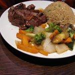 Kid's Hibachi steak dinner