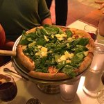 Tommaso's Spinach and Parmesan Pizza