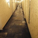 does this look like the hallway of a Newport Beach hotel? add carpet and it's a Holiday Inn.
