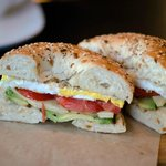 avocado, tomato, egg & local Pawlet cheese bagel