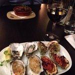 Oyster sample entrée - divine!
