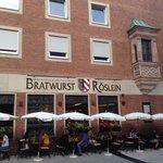 Bratwurstherzle Foto