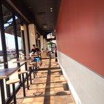Side dining room/solarium