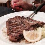 Beefteck grilled