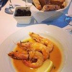 shrimp dish at Monte Belvedere