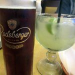 Good beer and margarita - El Charro Mexican Food and Cantina, Livermore, Ca