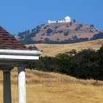 View of Lick Observatory on Drive Up, Mt. Hamilton, Ca