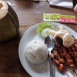 INR50,000 for satay rice and coconut