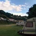 The Newberry site is beautifully laid out in a lovely valley, each pitch with plenty of space an