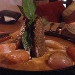 Massaman steak