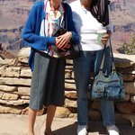 Dixie Carcaño, Beverly Schultz at Grand Canyon