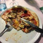 Pizza végétarienne (la meilleure du séjour)