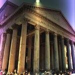 Pantheon at night -  Tiber Limo in Rome, Italy
