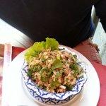 La rikiki salade de poulet...