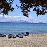 spiaggia privata di Olympia Mare