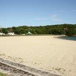 Larger local beach
