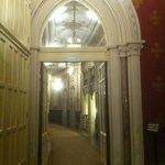 Well-ornated hallway
