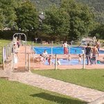 Gavin campsite pool area