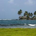 Foto van onbewoond eilandje tijdens excursie