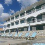 Hôtel vu de la piscine