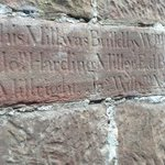 stone carved when mill reclad in 17 century