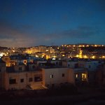 Vista dell' alba dalla terrazza del Cerviola