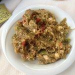 aubergine salad very tasty