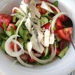 famous Greek salad(Kheryatoki)